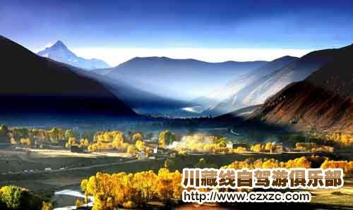 川藏线的秋季从九月到十一月